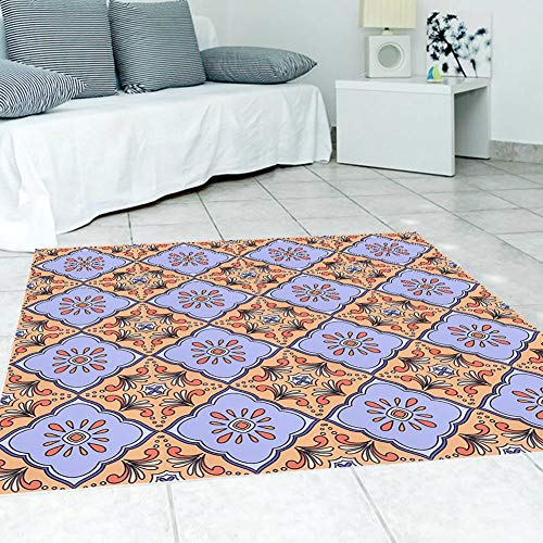 Oumefar Pegatina autoadhesiva impermeable antideslizante extraíble azulejos 10 piezas cocina Decotation para Homer (estilo 5)