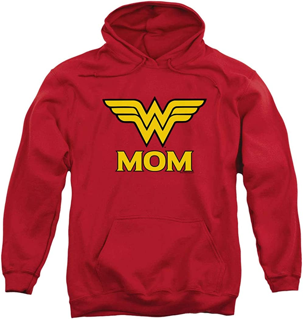 Popfunk Classic Wonder Raleigh Mall Woman Mom Challenge the lowest price of Japan Hoodi Comics Pullover DC