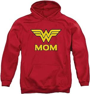 Wonder Woman Wonder Mom DC Comics Pullover Hoodie Sweatshirt & Stickers