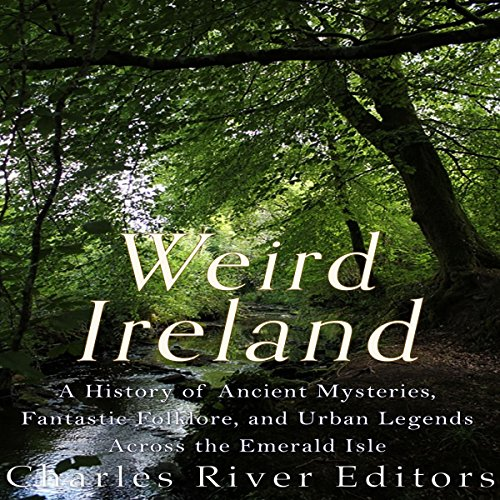 Weird Ireland audiobook cover art