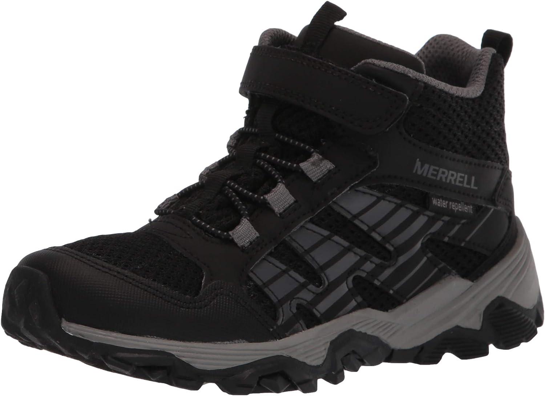 Merrell Unisex-Child Moab Voyager Mid Alternative Closure Hiking Boot