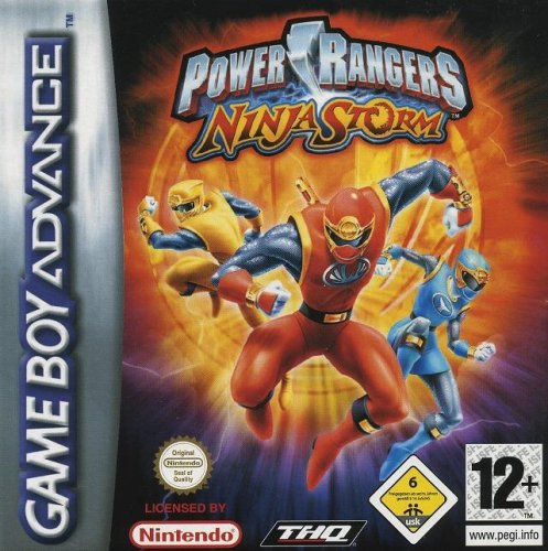 Power Rangers Ninja Storm (für Game Boy Advance)
