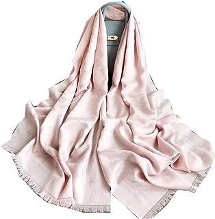 "Mintrayor Fashion Luxury Cashmere/Wool Scarf Warm Large Long scarves Silk Shawl for Women Men(70.9""x27.6"")"