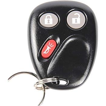 Keyecu Keyless Entry Remote Key Fob for GMC Sierra 1500 2500 3500 2003-2006 w// Free DIY Programming Instructions