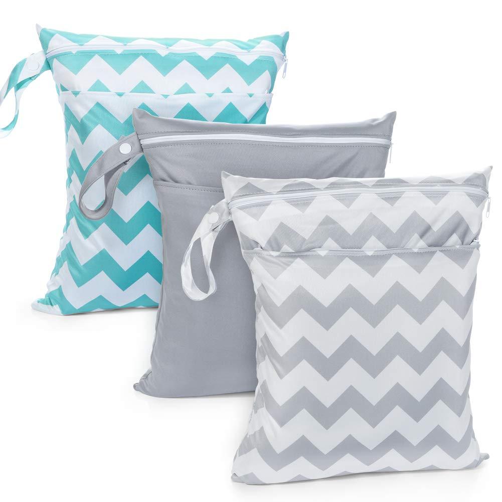 AiKiddo 3pcs Bags Cloth Diaper