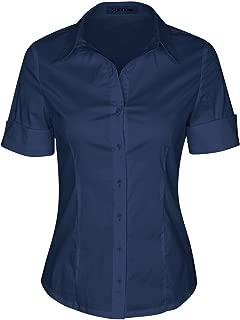 Best dark navy blue button down shirt Reviews