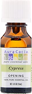Aura Cacia Personal Care Cypress Essential Oil 0.5 Oz. Bottle