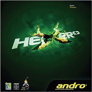 andro(アンドロ) 卓球 ラバー 回転テンション系 裏ソフトラバー ヘキサープラス 112261