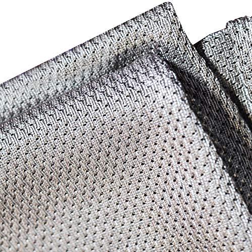 SUPEROMAS Ademende zilveren vezelstof RF/EMI/EMF/LF blokkeren/afscherming Anti straling geleidende stretchstof pak voor het maken van zwangerschapskleding, gordijnen, platen, kussen, enz 39