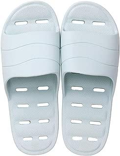 Comfortable Open Toe Massage Slipper, Indoor Home Shower Sandals for Men, Bathroom Shower Slippers,Blue,S