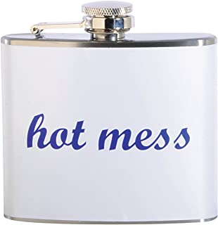 Hot Mess 5 oz. Stainless Steel Flask