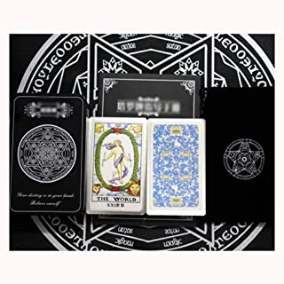 Tarot for Beginners- A Guide to Psychic Tarot Reading, Real Tarot Card Meanings,Plastic Seal, Send Storage Bag, Tablecloth