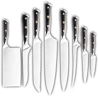 Couteau 7Cr17 Couteau en acier inoxydable Cuisine Chef de cuisine Couteau de la viande Tanture de la viande Cutter Utility...