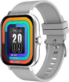 2021 GT20 Smart Horloge Mannen Vrouwen 1.69 Inch Stop Horloge Hartslag Full Touch Fitness Tracker IP67 Smart Watch voor An...