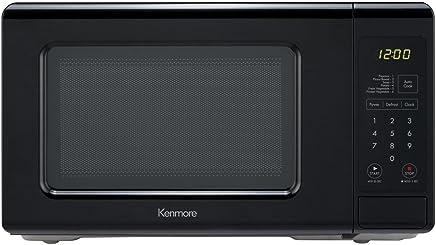 Kenmore 70719 Small 700W Countertop Microwave, 0.7 cu. ft. , Black