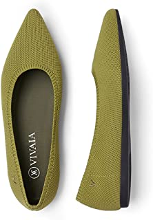 Sponsored Ad - VIVAIA Aria 2.0 Women's Casual Flats Slip on Washable Ballet Shoes Pointed-Toe Style