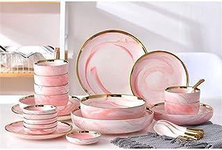 Service de Table Arts de la Table Vaisselle Creative marbre Phnom Penh Accueil Soupe de Nouilles saveur Bowl pour Manger F...