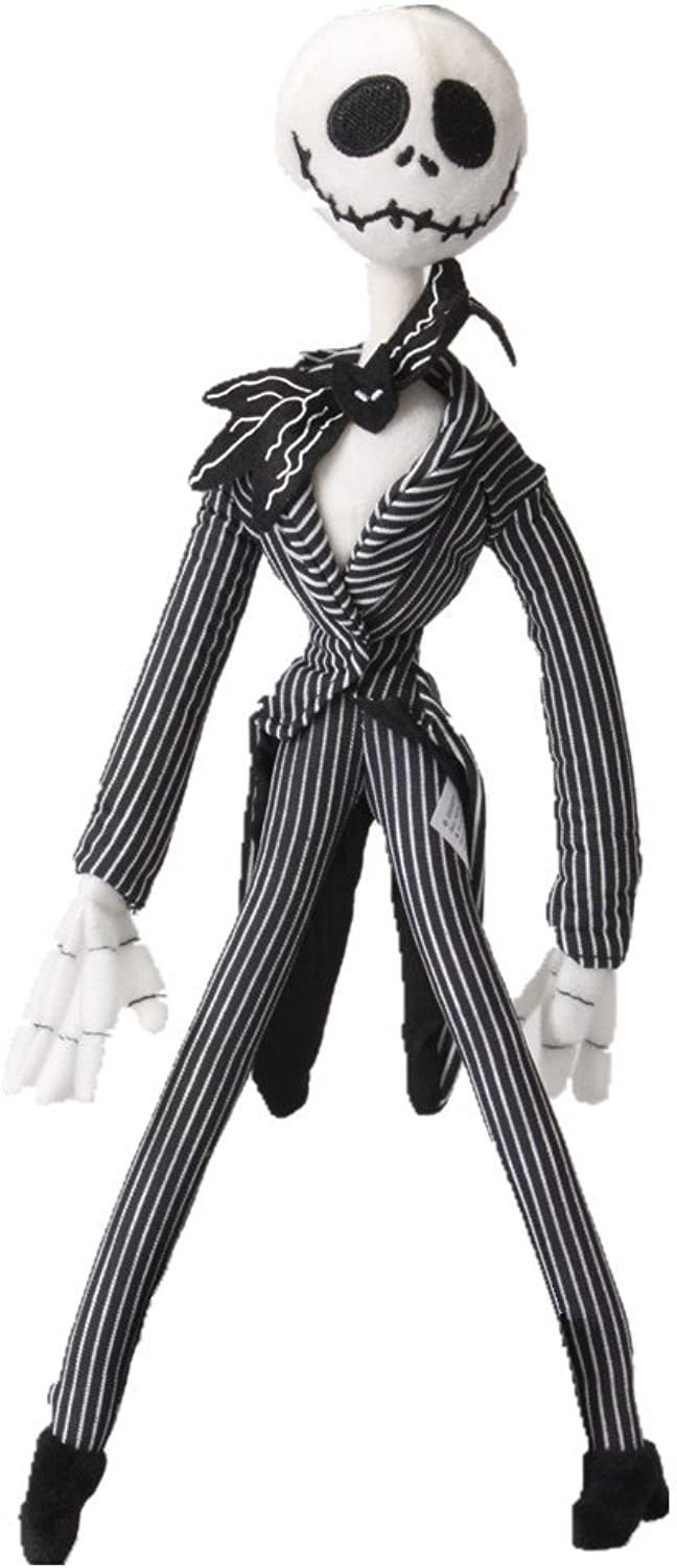 From Disney Nightmare Before Christmas Jack Skellington 12.5 Plush bambola by Dnb