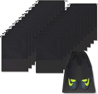 حقائب سفرية مقاومة للماء لتخزين الأحذية المحمولة مع مقبض للرجال والنساء