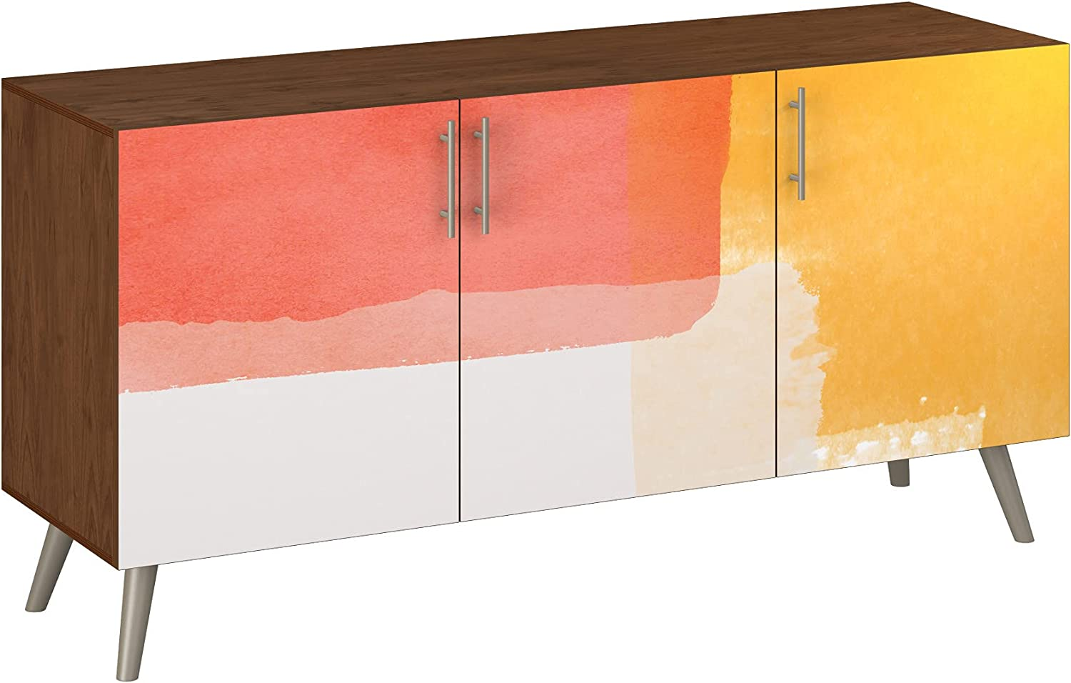Poppy Sideboard - Walnut Velma Design Styl Base 5 Colors Ranking TOP10 Our shop most popular in 11