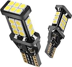 SEALIGHT 921 LED Bulbs 912 Reverse Lights T15 Back up Light 6000K White 360 Degree Lighting Non-polarity Error Free