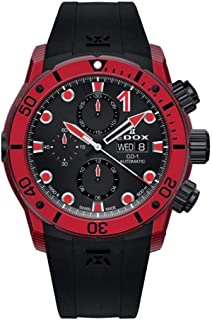 EDOX - CO-1 Reloj de Hombre automático 45mm Correa de Goma 01125 CLNRN NINRO