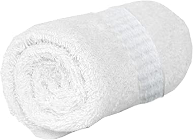 "Kuber Industries 100% Cotton Full Size Bath Towel 27"" x 54"" (White), Standard (CTKTC024289)"