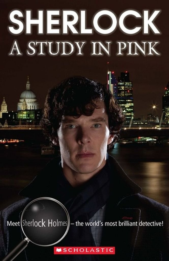 Download SHERLOCK A STUDY IN PINK LEVEL 3 B1 BOOK + CD (Scholastic Readers) 