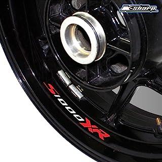 psler Motorrad Reifen Reflektierende Aufkleber Felgenaufkleber für S1000XR