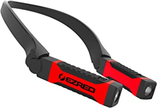 Ezred Bright NK10 ANYWEAR Neck Light for Hands-Free Lighting for Professionals, Campers, Runners, More. Dual pivoting beams and adjustable brightness levels.