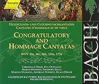 Congratulatory and Hommage Cantatas