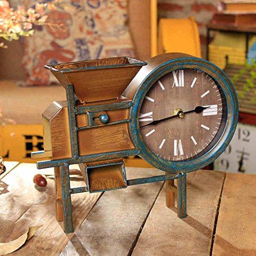 Een Taiwan klok creatieve klokken ijzer retro ornamenten huisdecoratie blazer horloges