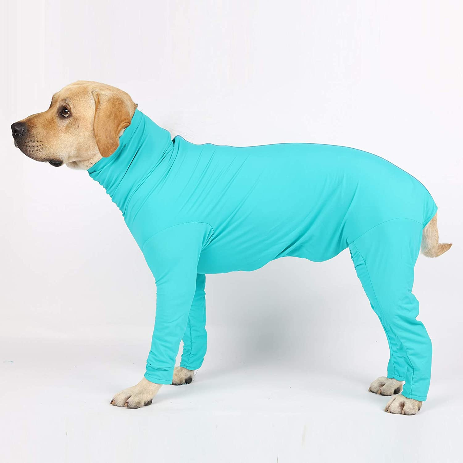 Surgery Recovery Body Jumpsuit Glorisun Original Dog Onesie Anxiety Calming Shirt Car Long-Sleeved 4 Legs Dog Clothing for Home Travel