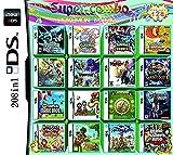208 en 1 Juegos Tarjeta DS Juego Paquete de Juegos NDS Super Combo para DS NDS NDSL NDSi 3DS 2DS XL Nuevo