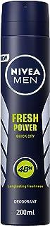 NIVEA MEN Fresh Power, Antiperspirant for Men, Fresh Scent, Spray 200ml