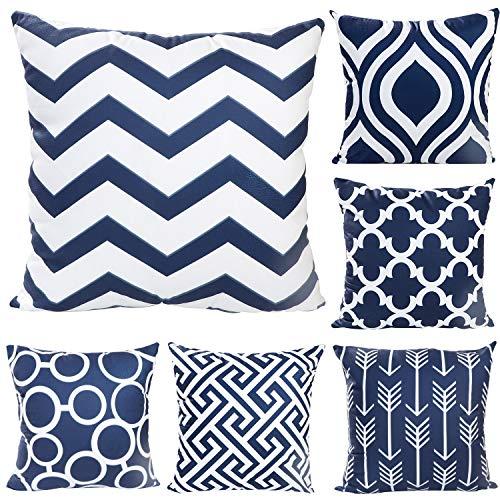 Cojines Cama Azul Marino cojines cama  Marca JOTOM