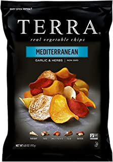 Terra Mediterranean Vegetable Chips, Garlic & Herbs, 6.8 Oz