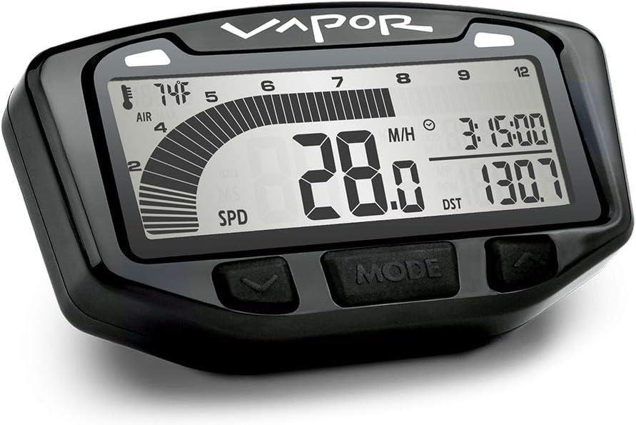 Trail Tech 752-113 Black Vapor Ga Speedometer Digital Tachometer Super sale period limited Ranking TOP18