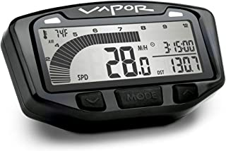 Trail Tech 752-111 Black Vapor Digital Speedometer Tachometer Gauge Kit, 2016-2019 KTM Husqvarna 250 350 450