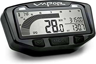 Trail Tech 752-117 Black Vapor Digital Speedometer...