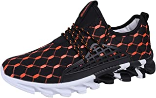 elegantstunning Chaussures de Sport Aquatiques Respirantes pour Hommes Chaussures de Sport en Bord de mer Baskets /élastiques