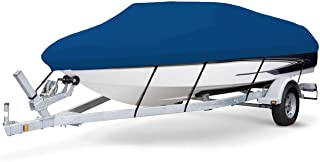 7 oz Solution Dyed Polyester Blue, Styled to FIT Boat Cover for SEA RAY SRV 225 Express Cruiser 1979-1984
