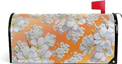 Bloemen Achtergrond Bloemen Magnetische Brievenbus Cover Tuin Home Decor Oversized 25,5 x 18 Inch
