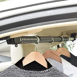MYSBIKER Barra para colgar para automóvil, portaequipajes para el techo del vehículo, adecuada para la mayoría de los automóviles, camiones, furgonetas, furgonetas y vehículos recreativos (160 cm)