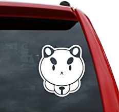 Black Heart Decals & More Puppycat | Color: White | 5 inch Tall
