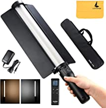 Godox LC500 LED Light Stick 3300K-5600K Adjustable Handheld Light Built-in Lithiunm Battery,Remote Control Carrying Case Portable Camping Wedding Shooting