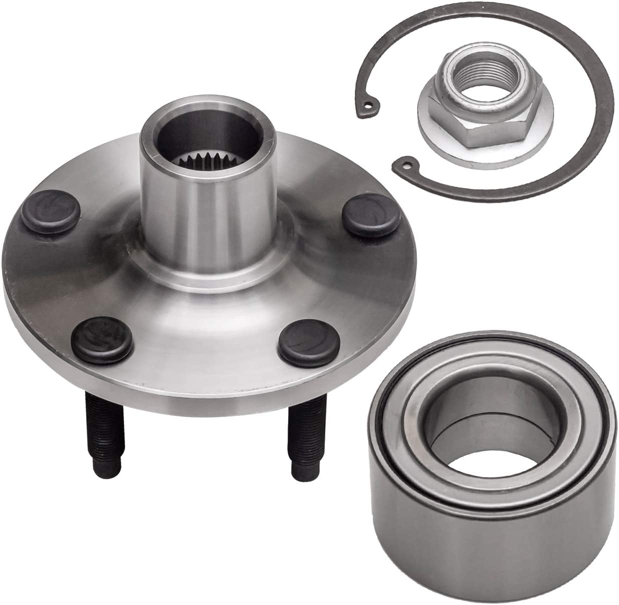 TUCAREST 518517 Front Wheel Bearing Assembly Compatible Super intense SALE and Credence Hub