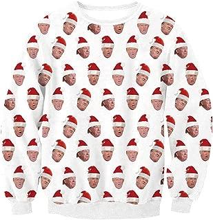 Unisex's Ugly Christmas Jumper Sweater, 3D Digital Print Sweatshirt