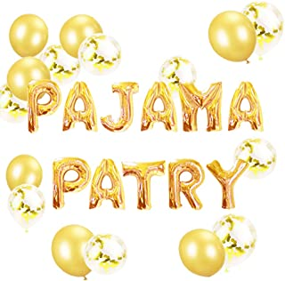 pajama spa party