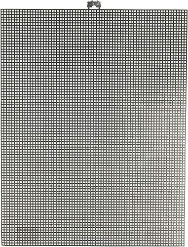 Darice 33900-20 Plastic Canvas, Black, 35.56 x 26.67 x 0.3 cm